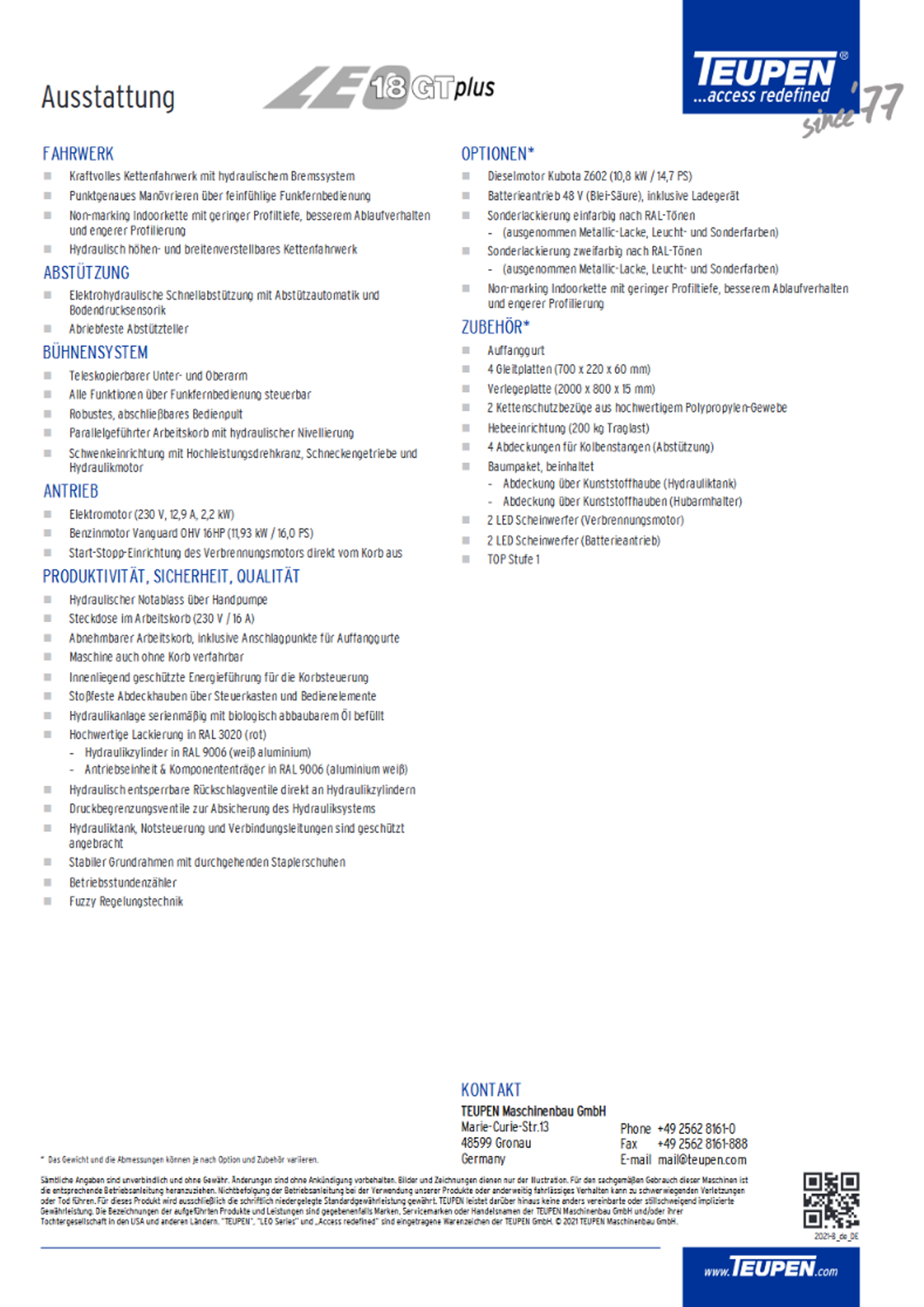 LEO18GTplus Datenblatt 2
