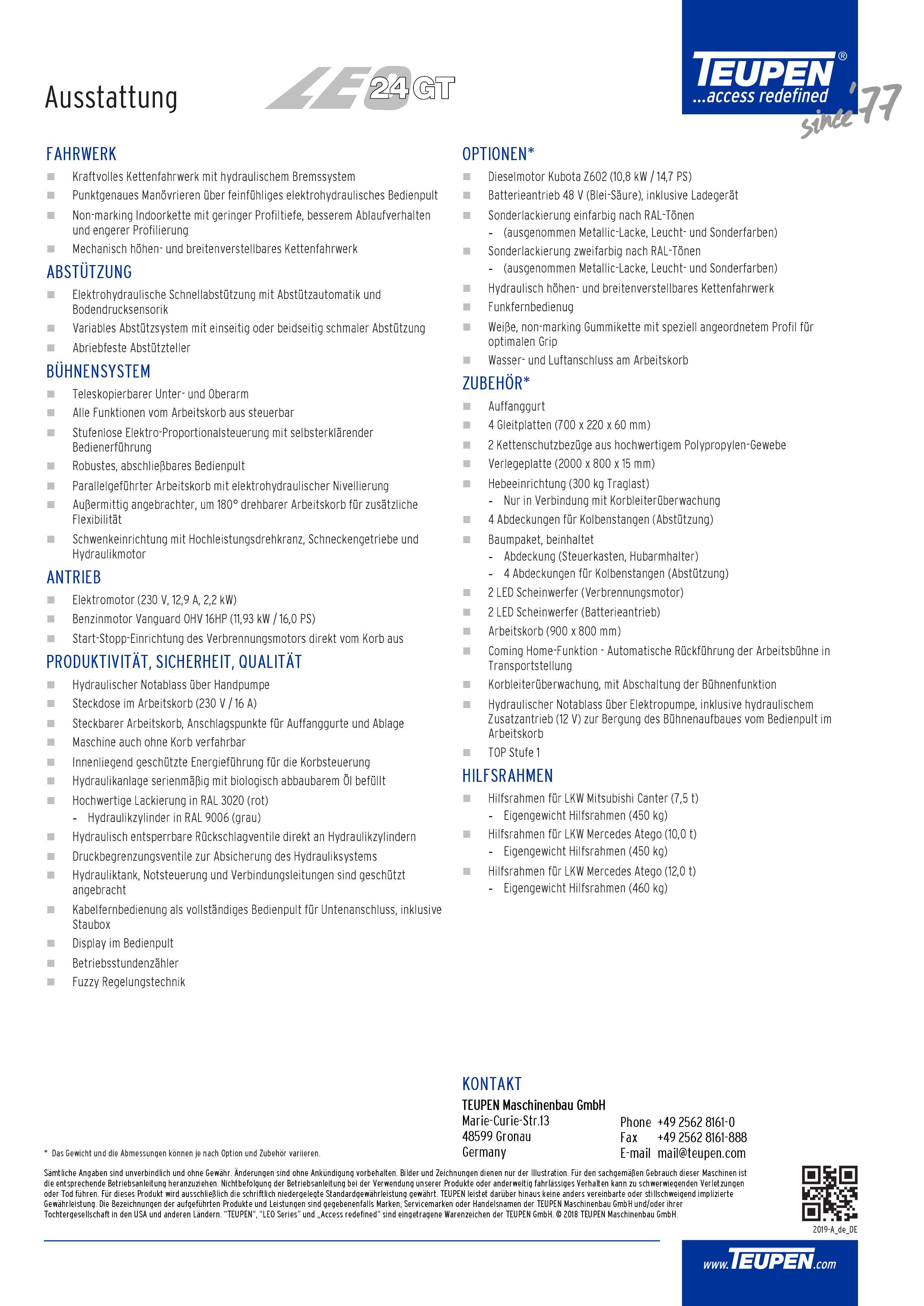 LEO24GT Datenblatt 2
